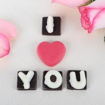 I love u Homemade 5 pcs Chocolate