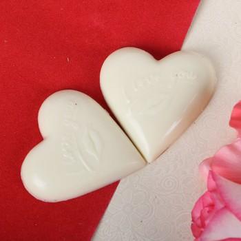 2 Heart-shaped Chocolates