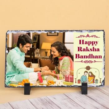 Happy Raksha Bandhan Photo Stone