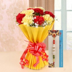 Blooming Rakhi Surprise
