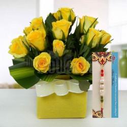 Floral Rakhi Surprise