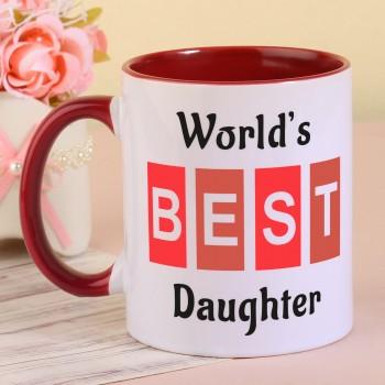 Best Daughter Printed Coffee mug