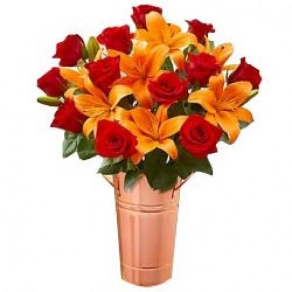 Stunning Hot Lilies