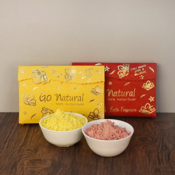 Pack of 2 Scented Organic Gulal