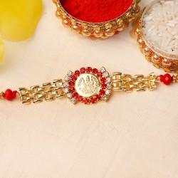 Divine Gold Chain Rakhi