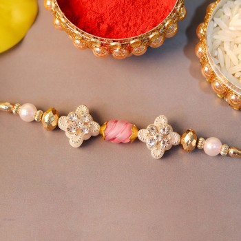 Ivory Pearl Rakhi