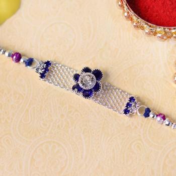 Sparkling American Diamond Rakhi