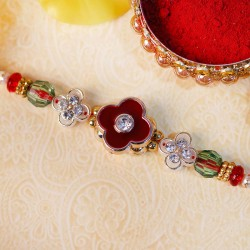Blooming Floral Rakhi for Bhai