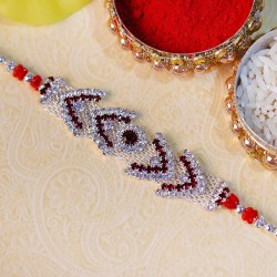 Dazzling American Diamond Rakhi