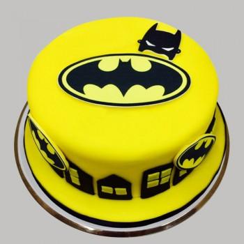 1 kg Fondant Chocolate Batman cake