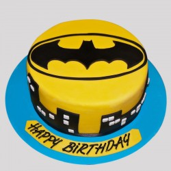 Electrifying Batman Cake