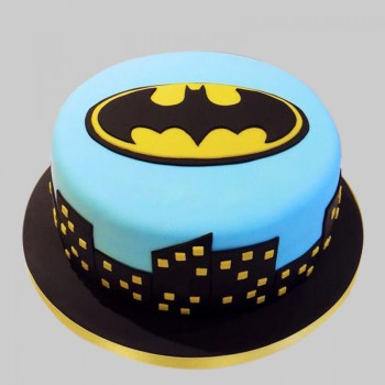 1 Kg Chocolate Fondant Batman Designer Cake
