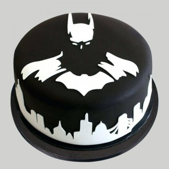 1 Kg Chocolate Fondant Batman Cake