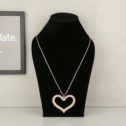 Heart-Designed Stylish Pendant
