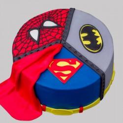 Dynamic Avengers Cake