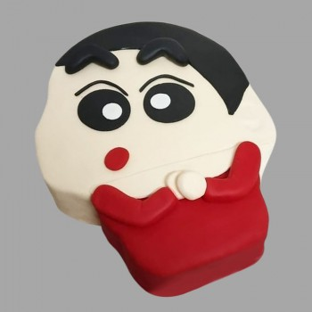 1 Kg Shinchan Theme Chocolate Fondant Cake