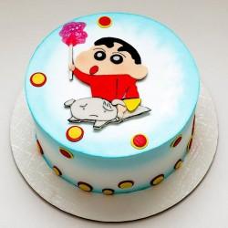 Mischievous Shinchan Cake