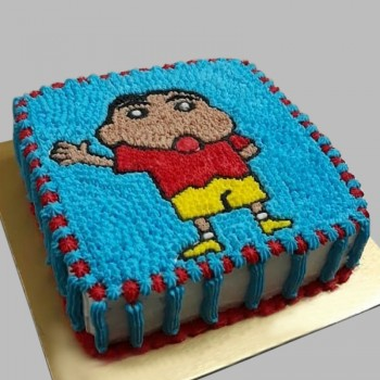 Zestful Shinchan Cake