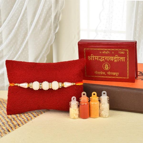 Divine Rakhi Celebration Hamper