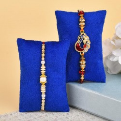 Set of 2 Designer Rakhis