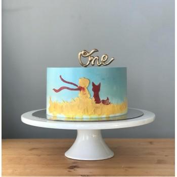 2 Kg 1st Birthday Vanilla Cream Cake