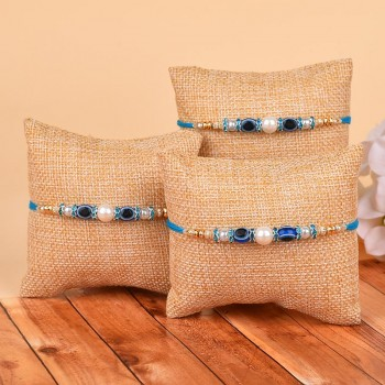 Set of 3 Evil Eye Rakhis