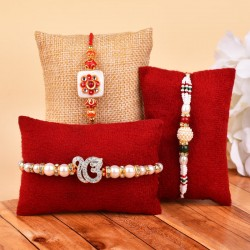 Set of 3 Blissful Rakhis