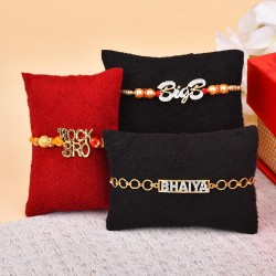 Set of 3 Funky Rakhis
