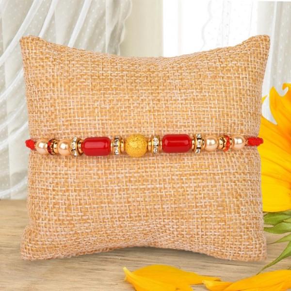 Stunning Beads Rakhi