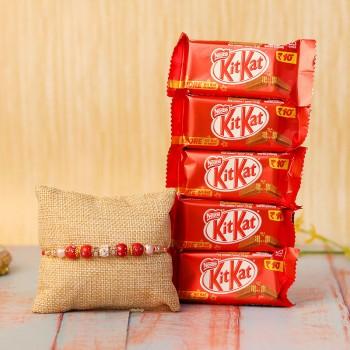 KitKat Rakhi Break