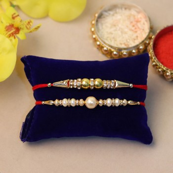 Set of 2 Attractive Rakhis