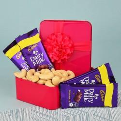 Cashews N Dairy Milk Gift Box