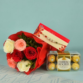 Refreshing Rakhi Hamper