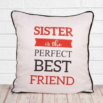 Best Friend Cushion for Best Sister