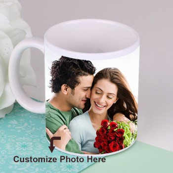 One Personalised Photo Mug