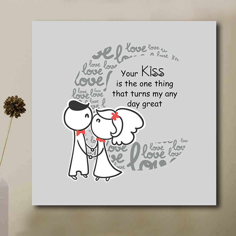 Hugs and Kisses Canvas