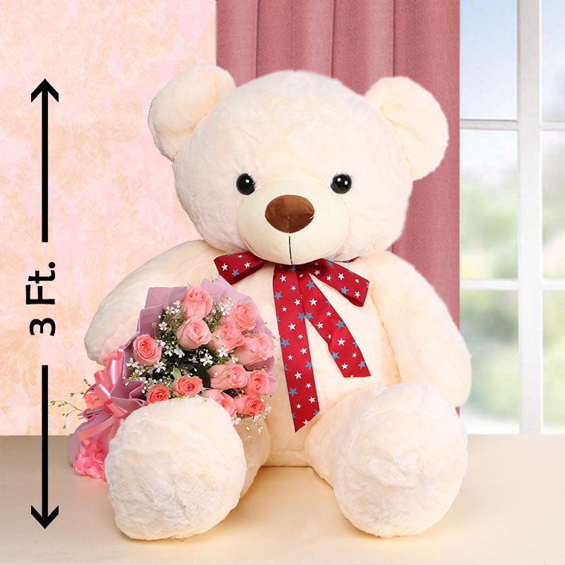 Magical Flowers and Bear