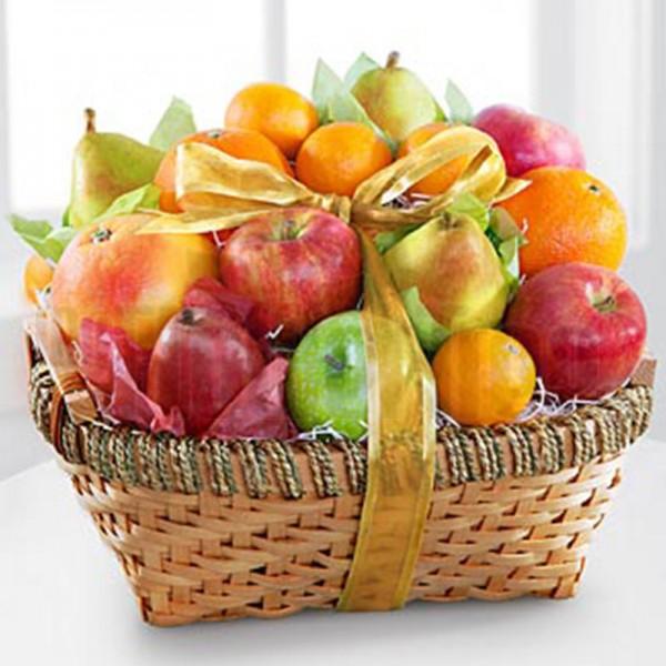 Apple and Oranges Fruit Basket