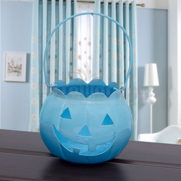 Blue Halloween Bucket