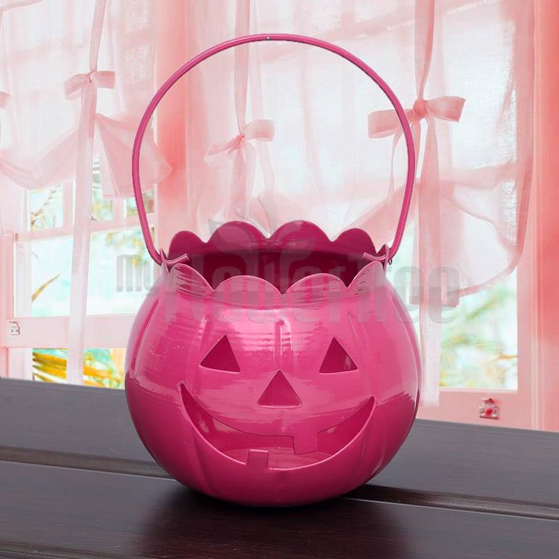Pink Halloween Bucket