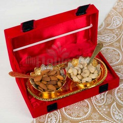Silver Golden Dry Fruits Set