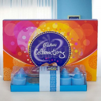 Scented Candles with Cadbury Celebration