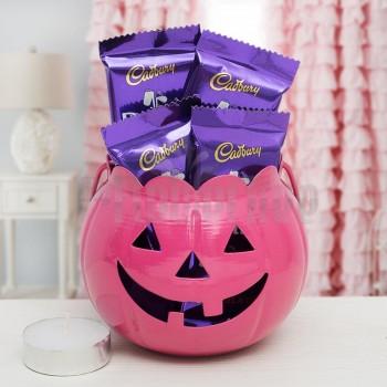 Halloween Bucket with Dairy Milk Chocolates
