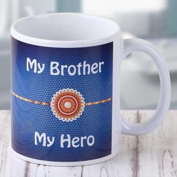 Rakhi Printed Mug for Brother