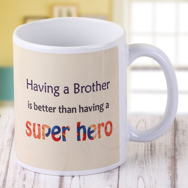Super Hero Bro Mug