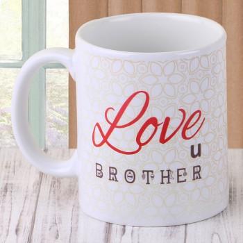 Love u Brother Coffee Mug