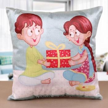 personalised cushion for rakhi online
