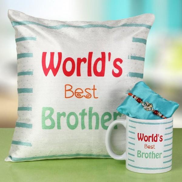 Best Brother Rakhi Combo