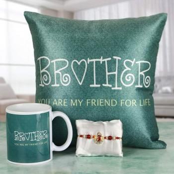 Best Buddy Brother Rakhi Combo