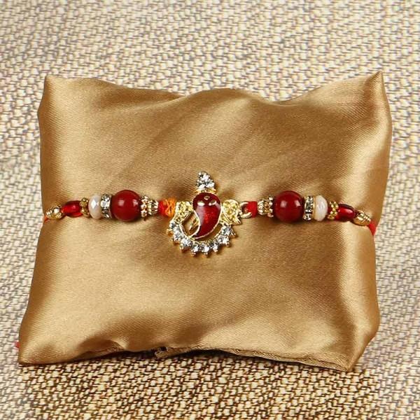 Red Ganesha String